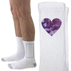 WE LOVE OPTICAL socks