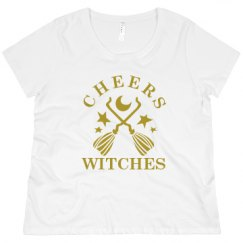 Promo Ladies Plus Size Crewneck  Tee