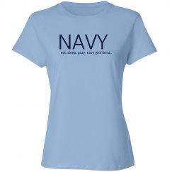 Eat sleep pray navy girlfriend