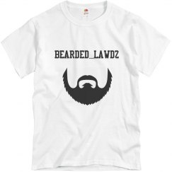 Bearded lawdz Tee shirt