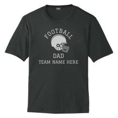 Custom Team Football Dad