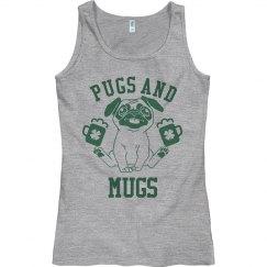 St Patrick's Pugs And Mugs