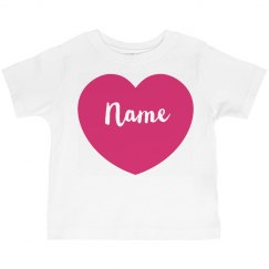 Cute Girls Custom Valentine Tee