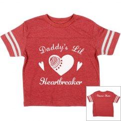 Girls Valentine Heartbreaker Tee