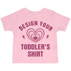 Personalized Toddler Girls Shirts