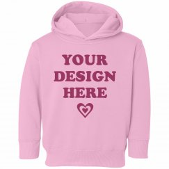 Cozy Custom Toddler Girl Hoodie