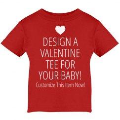 Custom Baby Valentine's Shirts