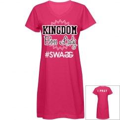 Kingdom Boss lady dress