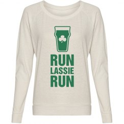Irish Pint Of Beer Lassie Run Race