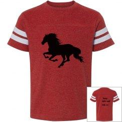 la t vintage t-shirt