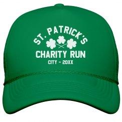 St. Patrick's Day Charity Run Custom Hat
