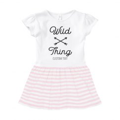 Wild Thing Custom Infant Dress