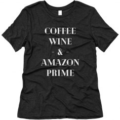 Coffee, Wine & Amazon Prime