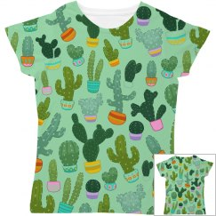 Cactus All Over Print Women's Tee