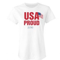 USA Proud Tee