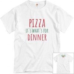 Pizza Dinner Unisex grey