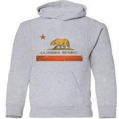 California Republic Sweater (Gold Bar) Stressed Look