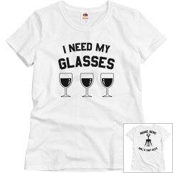 Funny Girl's Trip Custom Wine