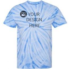 Custom Team Color Tie-Dye Tees