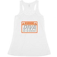 warning diva w/a vision