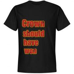 Crown should have won