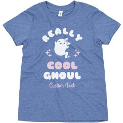 Really Cool Ghoul Custom Kids Tee