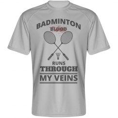 Badminton blood runs through my veins