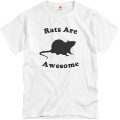 Rats are Awesome Tee