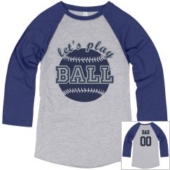 Custom Baseball Dad Fan