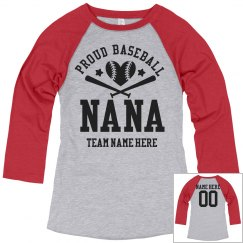 Proud Baseball Nana