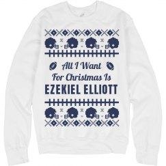 Football Xmas Sweater E. Elliott