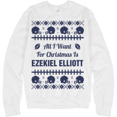 Football Xmas Sweater E. Elliott