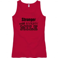 Stronger with every mile