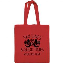 Tan Lines & Good Time Beach Bag