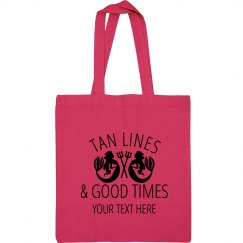 Tan Lines & Good Time Beach Bag