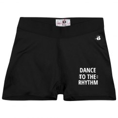 Dance to the Rhythm shorts