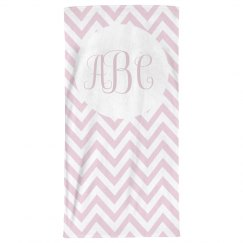 Custom Initials Bathroom Towel