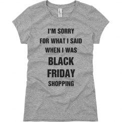 Black Friday Shopping Tee