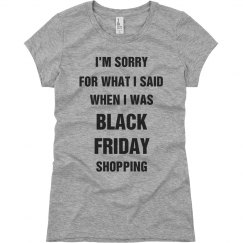 Black Friday Shopping Tee