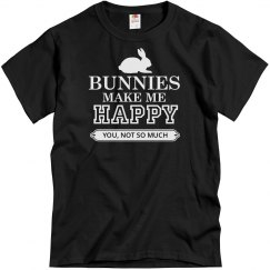 Bunnies make me happy