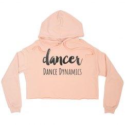 Dancer Crop Hoodie