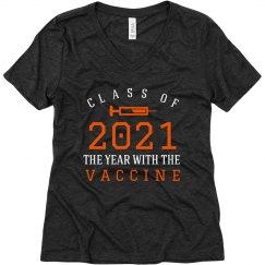 Class Of 2021 Vaccine Tee