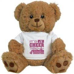 Cheer Logo Bear