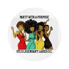 Button - Party With A Purpose