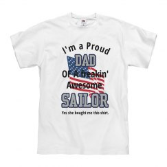 Proud Dad of Sailor Daughter