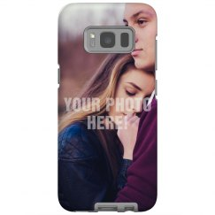 Upload Your Photo Galaxy Case