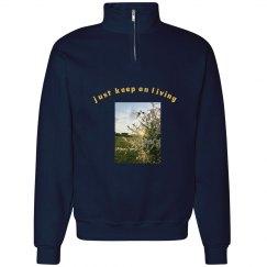 Keep Living Zip Front