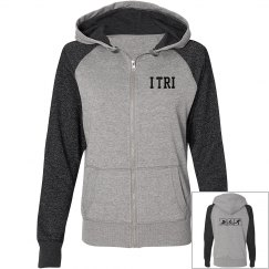 Glittering and shimmering I TRI hoodie