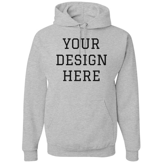 f95476c32b5 Your Design Here Custom Hoodies Unisex Basic Promo Hoodie