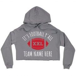 Cute Custom Football Y'All Team